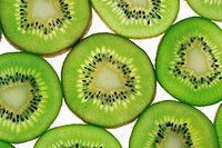 Kiwi, Kiwifruit, Kiwifruits, Slices, Fruits, Fruit, Studio, Food, Structure, Still life