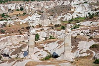 Turkey, Goreme, Love Valley, Anatolia, Asia, erosion, fairy_chimney, fairy_chimneys, rocks, rock_formations, rock_stru