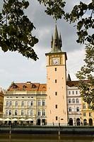 Smetana Museum and Smetana Embankment, Prague, Czech republic