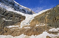Angel Glacier on Mount Edith Cavell, Jasper National Park, Alberta, Canada
