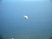 Hang glider, São Vicente, São Paulo, Brazil