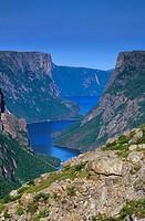 Western Brook Pond, Gros Morne National Park, Newfoundland and Labrador, Canada