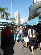 Open-air-fair, São Paulo, Brazil