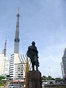 Statue, São Paulo, Brazil