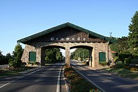 entrace of Gramado, Gramado, Rio Grande do Sul, Brazil