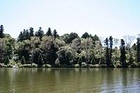 Lago negro de Gramado, Gramado, Rio Grande do Sul, Brazil