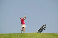 9 hole golf course, St  Andrews Na Creige Golf Course, Golf Clinic, Codroy Valley, West Coast of Newfoundland, Canada