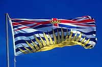 British Columbia´s flag, British Columbia, Canada