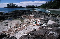 Pacific Rim National Park, Schooner cove, Vancouver Island, British Columbia, Canada