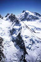 Coast Range, Mount Waddington, tallest peak entirely in British Columbia, Canada