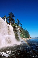 Pacific Rim National Park, West Coast Trail -Tsusiat Falls, Vancouver Island, British Columbia, Canada