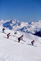 Whistler Backcountry, Coast Mountains, British Columbia, Canada