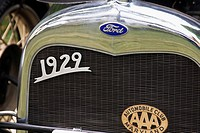 Front of a 1929 Ford