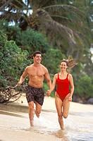 Fantasy Beach Jogging