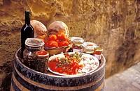 Rustic Italian Picnic Lunch