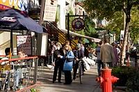 St  Denis Street, Montreal, Quebec