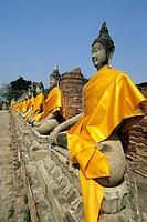 Wat Yai Chaya Mongkoi, Ayutthaya, Thailand