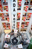 Paintings of former Prime Ministers, CBC Building, Toronto, Ontario