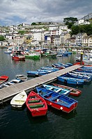 Fishing port. Luarca, Valdes, Asturias, Spain