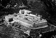 lazio, abbazia di montecassino, 1940