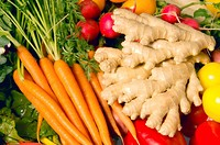 Ginger and Vegetables