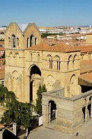 St. Vincent´s church (12th century), Avila. Castilla-Leon, Spain