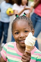 Girl with ice cream