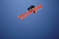 Skier Flying Through the Air (thumbnail)