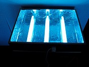 Homemade light table