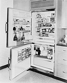 Refrigerator, 1961 All persons depicted are not longer living and no estate exists Supplier warranties that there will be no model release issues