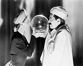 CRYSTAL BALL All persons depicted are not longer living and no estate exists Supplier warranties that there will be no model release issues
