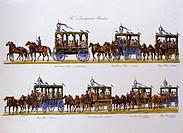 Oktoberfest München, Festzug 25Jubiläum, 1835, 19 Jahrhundert, Deutschland, Kunst, historisch