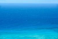 Panoramic view of a sea, Diamond Head, Waikiki Beach, Honolulu, Oahu, Hawaii Islands, USA