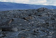 Patterns in Pahoehoe lava, Big Island, Hawaii