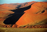 Linear dune in the Namib Desert, Namibia