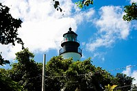 Low angle view of a lighthouse, Key West Lighthouse Museum, Key West, Florida, USA (thumbnail)