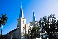 Low angle view of a church, St  Mary Star Of The Sea, Key West, Florida, USA