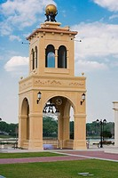 Low angle view of a monument, Altamonte Springs, Orlando, Florida, USA