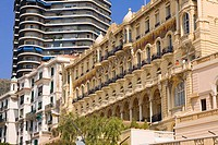 Low angle view of a hotel, Hotel Hermitage, Monte Carlo, Monaco