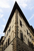 Low angle view of a building, Florence, Italy