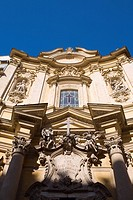 Low angle view of a church, Rome, Italy