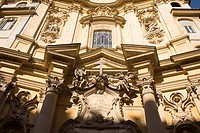 Low angle view of a church, Santa Maria Maddalena, Rome, Italy