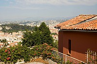 High angle view of a cityscape, Nice, France