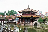 Yuantong Temple , Kunming City, Yunnan Province, People´s Republic of China, FOR EDITORIAL USE ONLY