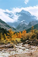 Huanglong, Songpan County, Aba State, Sichuan Province of People's Republic of China