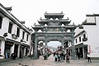 Jiangwan Village, Wuyuan County, Jiangxi Province, People´s Republic of China, FOR EDITORIAL USE ONLY
