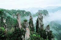 Emperor Mountain, Zhangjiajie City, Hunan Province of People´s Republic of China