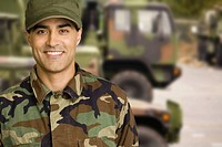 Male soldier wearing camouflage (thumbnail)