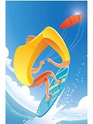 Kite surfing (thumbnail)