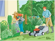Couple gardening (thumbnail)